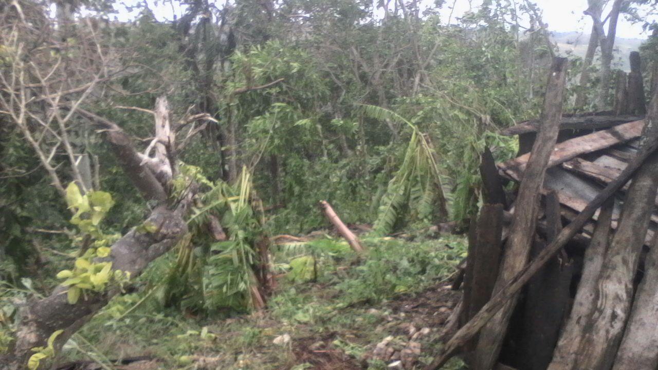 Ouragan à Haiti