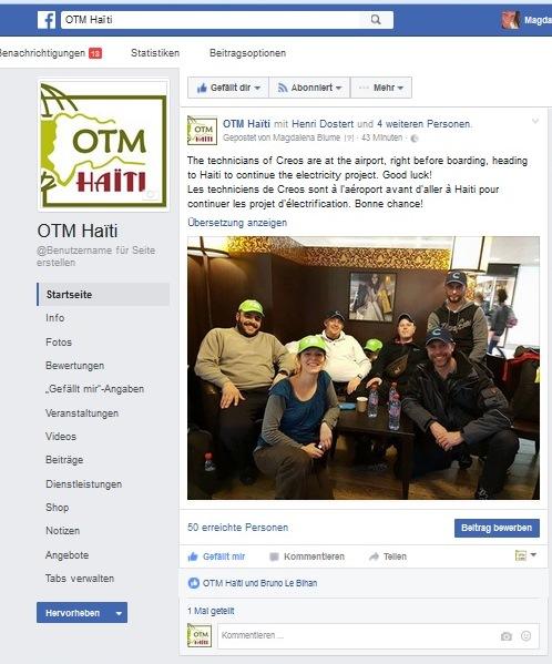 OTM Facebook