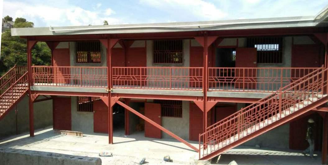 La troisième école parasimique est construite!